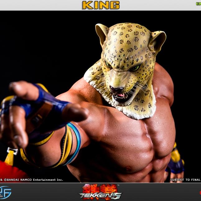 First4Figures Tekken 5 King Statue Exclusive Version 1