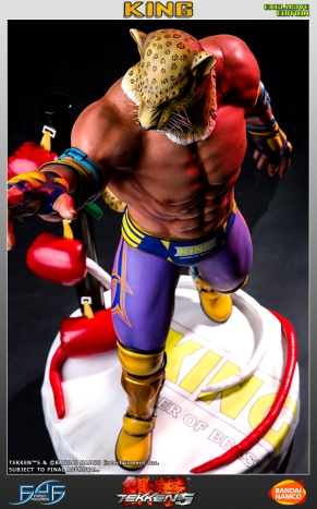 First4Figures Tekken 5 King Statue Exclusive Version 14