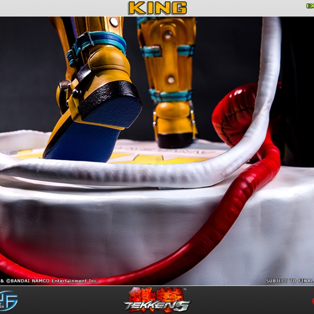 First4Figures Tekken 5 King Statue Exclusive Version 2