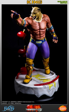 First4Figures Tekken 5 King Statue Exclusive Version 7
