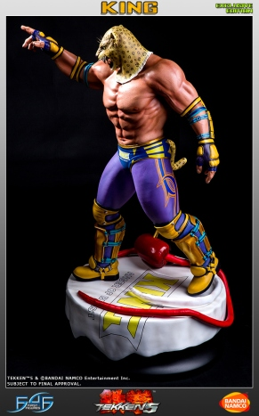 First4Figures Tekken 5 King Statue Exclusive Version 8