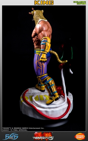 First4Figures Tekken 5 King Statue Exclusive Version 9