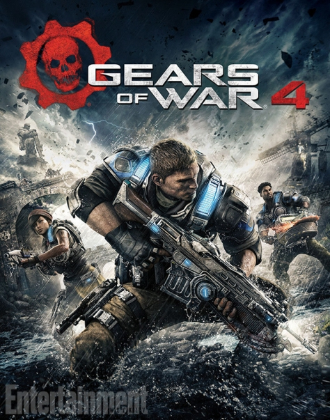 Gears of War 4 official cover art Entertainment Weekly