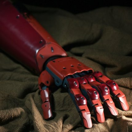 MGSV Sentinel Full Scale Replica Bionic Arm 10