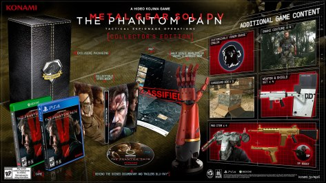 MGSV TPP Collector's Edition NA