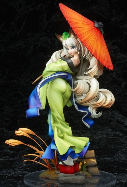Muramasa The Demon Blade Yuzuruha Alter Statue 1