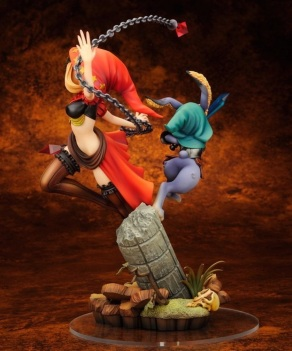 Odin Sphere Leifthrasir Velvet With Cornelius Statue 6