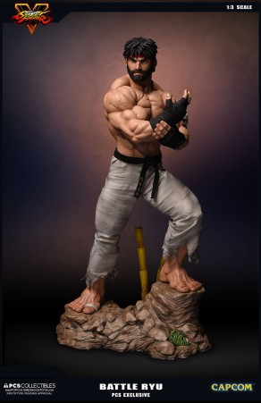 PCS Collectibles Street Fighter V Battle Ryu Statue 1