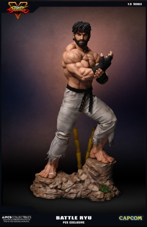 PCS Collectibles Street Fighter V Battle Ryu Statue 2