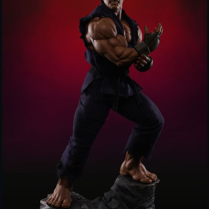PCS Collectibles Street Fighter V Evil Ryu Statue 1