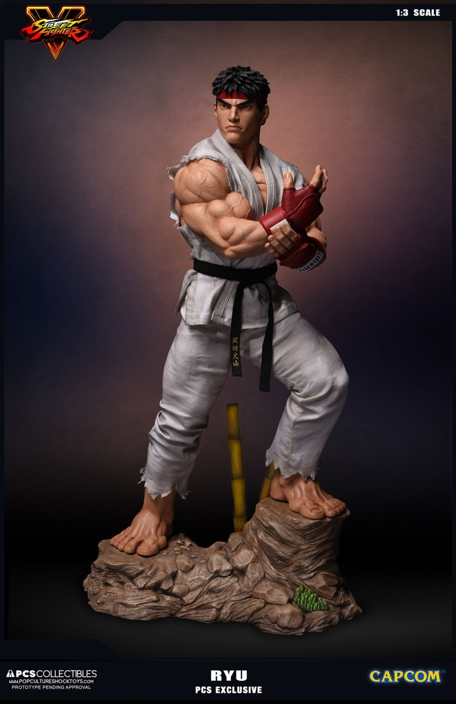 PCS Collectibles Street Fighter V Ryu Statue 1
