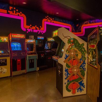 Pixel Dreams Arcade Room