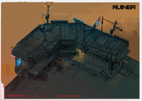 RUINER official presskit artwork Bar