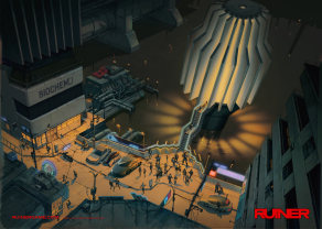 RUINER official presskit artwork City