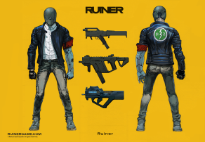 RUINER official presskit artwork Concepts