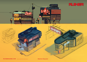 RUINER official presskit artwork Girls