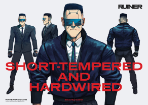 RUINER official presskit artwork Guards