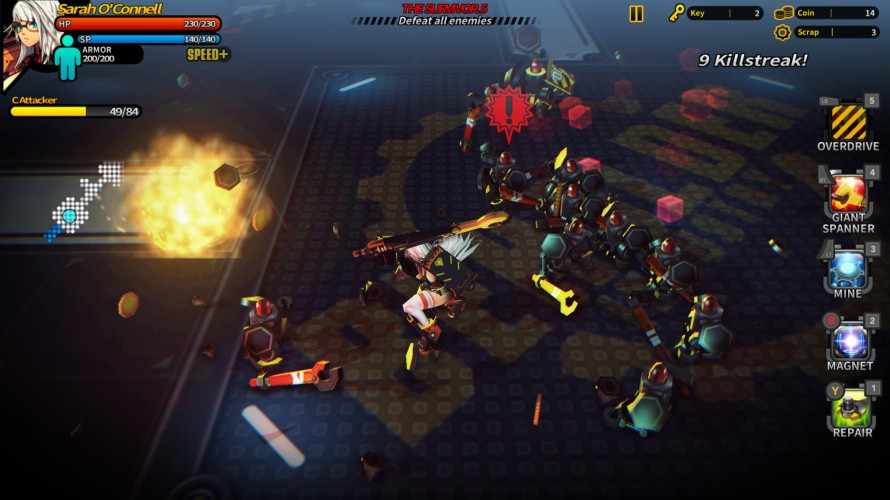 Smashing the Battle Gameplay Screenshot 2