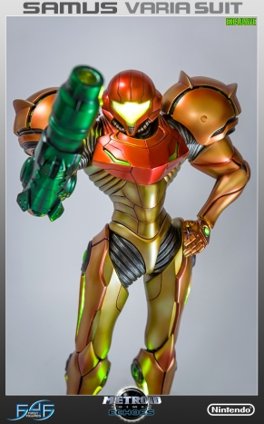 First4Figures Metroid Prime 2 Echoes Varia Suit Exclusive Edition Statue 1