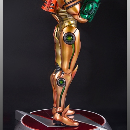 First4Figures Metroid Prime 2 Echoes Varia Suit Exclusive Edition Statue 10