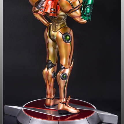 First4Figures Metroid Prime 2 Echoes Varia Suit Exclusive Edition Statue 11
