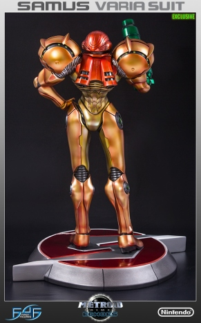 First4Figures Metroid Prime 2 Echoes Varia Suit Exclusive Edition Statue 12