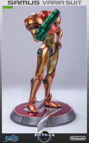 First4Figures Metroid Prime 2 Echoes Varia Suit Exclusive Edition Statue 14