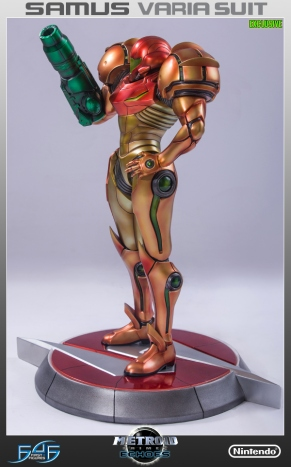 First4Figures Metroid Prime 2 Echoes Varia Suit Exclusive Edition Statue 15