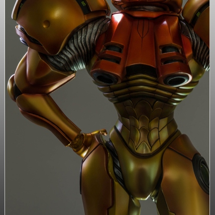 First4Figures Metroid Prime 2 Echoes Varia Suit Exclusive Edition Statue 16