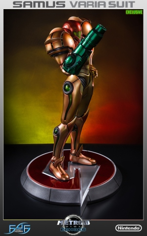 First4Figures Metroid Prime 2 Echoes Varia Suit Exclusive Edition Statue 17