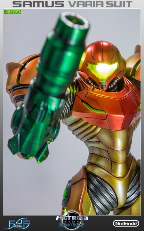 First4Figures Metroid Prime 2 Echoes Varia Suit Exclusive Edition Statue 2