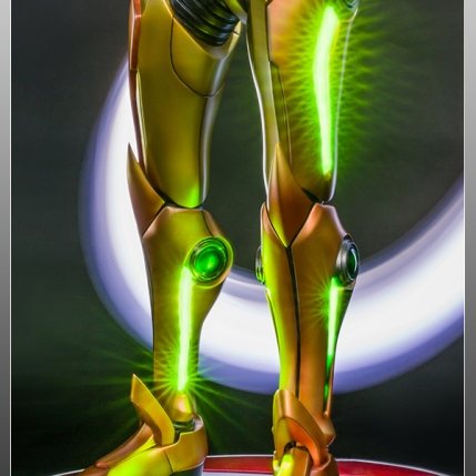 First4Figures Metroid Prime 2 Echoes Varia Suit Exclusive Edition Statue 5