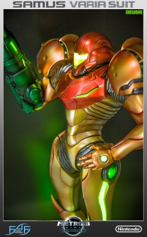 First4Figures Metroid Prime 2 Echoes Varia Suit Exclusive Edition Statue 6