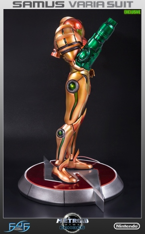 First4Figures Metroid Prime 2 Echoes Varia Suit Exclusive Edition Statue 9