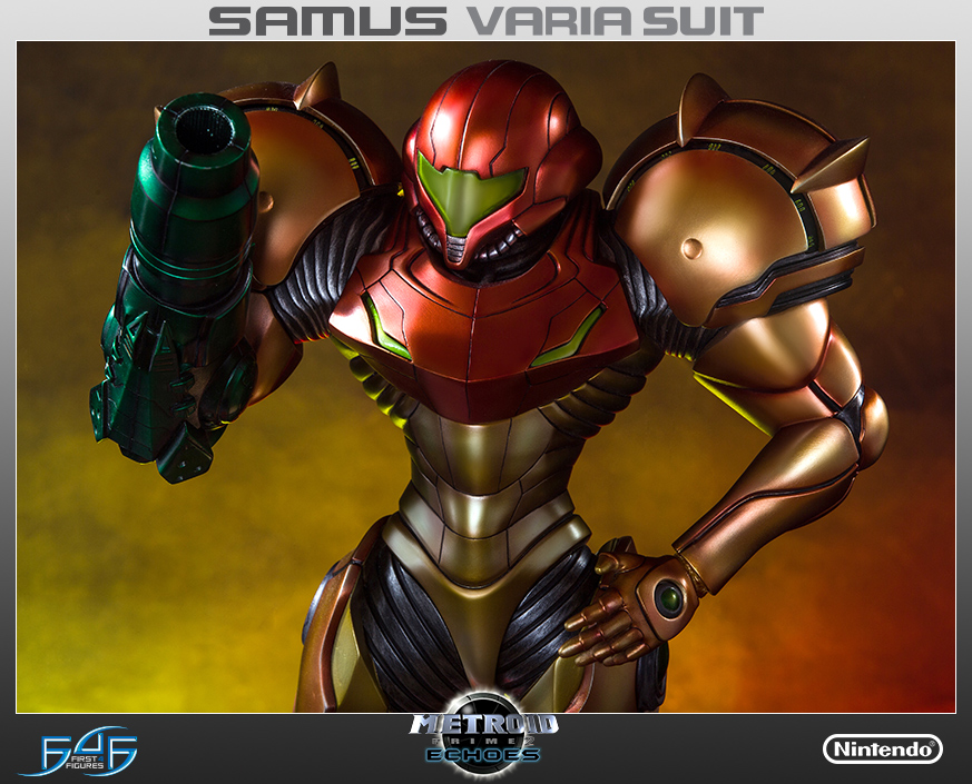 First4Figures Metroid Prime 2 Echoes Varia Suit Standard Edition Statue 1