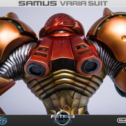 First4Figures Metroid Prime 2 Echoes Varia Suit Standard Edition Statue 12