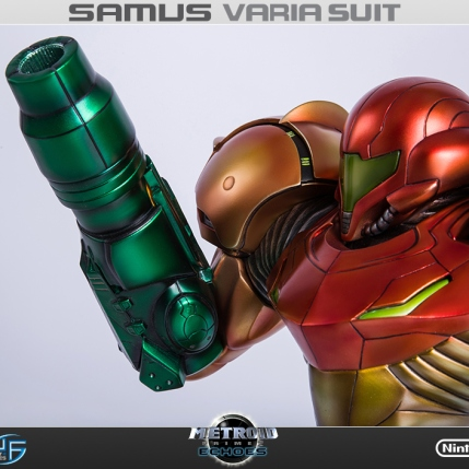 First4Figures Metroid Prime 2 Echoes Varia Suit Standard Edition Statue 13