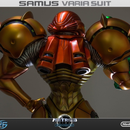 First4Figures Metroid Prime 2 Echoes Varia Suit Standard Edition Statue 15