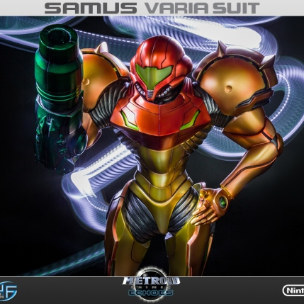 First4Figures Metroid Prime 2 Echoes Varia Suit Standard Edition Statue 3
