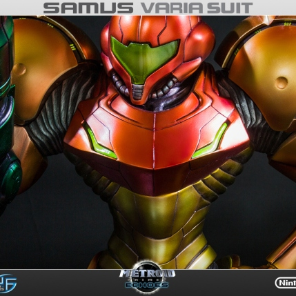 First4Figures Metroid Prime 2 Echoes Varia Suit Standard Edition Statue 4