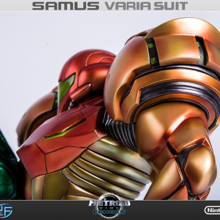 First4Figures Metroid Prime 2 Echoes Varia Suit Standard Edition Statue 5