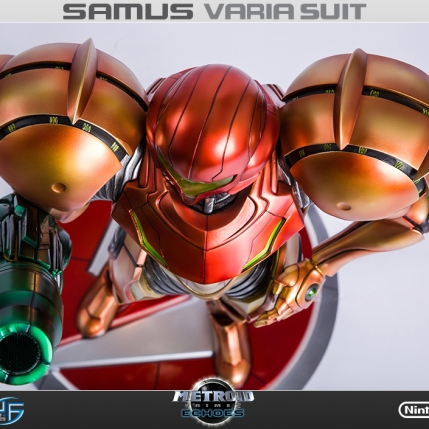 First4Figures Metroid Prime 2 Echoes Varia Suit Standard Edition Statue 6