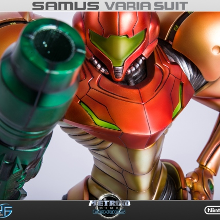 First4Figures Metroid Prime 2 Echoes Varia Suit Standard Edition Statue 7