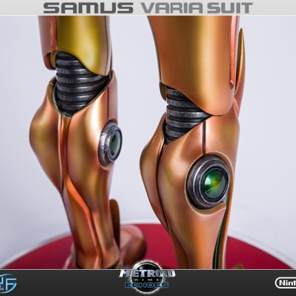 First4Figures Metroid Prime 2 Echoes Varia Suit Standard Edition Statue 9