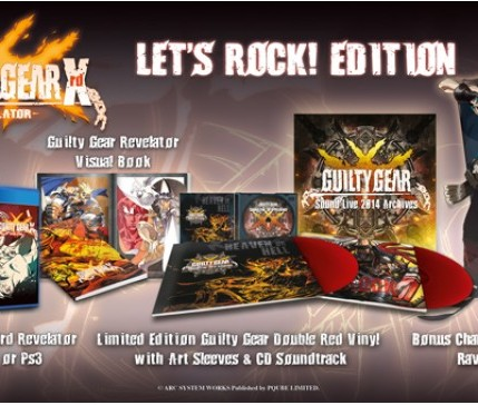 Guilty Gear Xrd -REVELATOR- Let's Rock Edition Rice Digital Exclusive