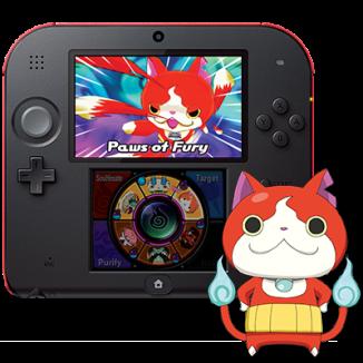 Nintendo 2DS YO-KAI WATCH Bundle