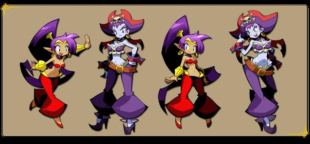 Shantae Half-Genie Hero Key Art Shantae Risky Boots