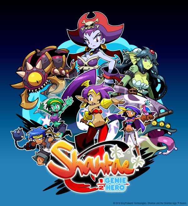 Shantae Half-Genie Hero Key Art