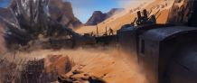 Battlefield 1 Arabia Concept Art 6