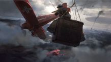 Battlefield 1 Dogfighting Concept Art 3